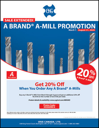 A BRAND® A-MILL PROMO